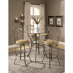 Buy Hillsdale Brookside 5 Piece 36x36 Pub Table Set w/ Hanover Barstool on sale online