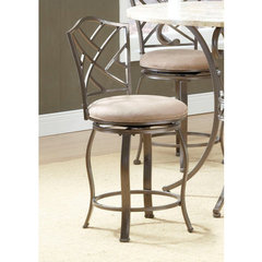 Buy Hillsdale Brookside Hanover Swivel 24 Inch Counter Height Stool on sale online