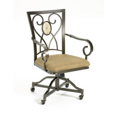 Buy Hillsdale Brookside Oval Caster Chair (Set of 2) on sale online