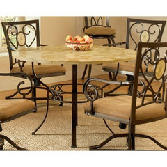 Buy Hillsdale Brookside 45x45 Round Dining Table on sale online