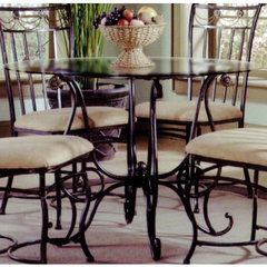 Buy Hillsdale Camelot II 42x42 Round Dining Table on sale online