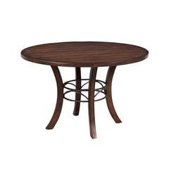 Buy Hillsdale Cameron 48x48 Wood Dining Table w/ Metal Ring on sale online