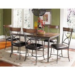 Buy Hillsdale Cameron 7 Piece Dining Set w/ X Back Chairs on sale online
