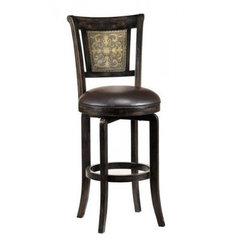 Buy Hillsdale Camille Swivel 30.5 Inch Barstool on sale online