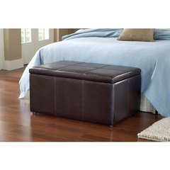 Buy Hillsdale Catalena Storage Trunk in Brown on sale online
