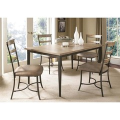 Buy Hillsdale Charleston 5 Piece 60x36 Rectangle Dining Set w/ Ladder Back Chairs on sale online