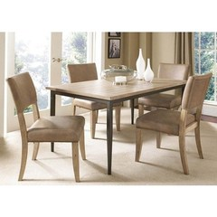 Buy Hillsdale Charleston 5 Piece 60x36 Rectangle Dining Set w/ Parson Chairs on sale online