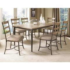 Buy Hillsdale Charleston 7 Piece 60x36 Rectangle Dining Set w/ Ladder Back Chairs on sale online
