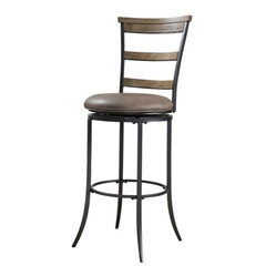 Buy Hillsdale Charleston 26 Inch Swivel Counter Height Stool in Tan on sale online
