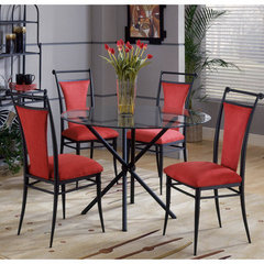 Buy Hillsdale Cierra 5 Piece Dining Room Set in Flame on sale online