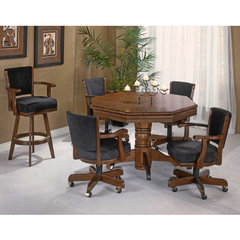 Buy Hillsdale Classic Cherry 5 Piece Game Table Set on sale online