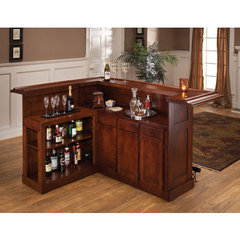 Buy Hillsdale Classic Cherry Large Bar w/ Side Bar on sale online