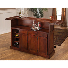 Buy Hillsdale Classic Cherry Large Home Bar on sale online