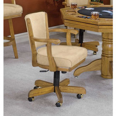 Buy Hillsdale Classic Oak Game Chair on sale online