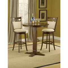 Buy Hillsdale Dynamic Designs 3 Piece 36x36 Pub Table Set w/ Jefferson Stools on sale online