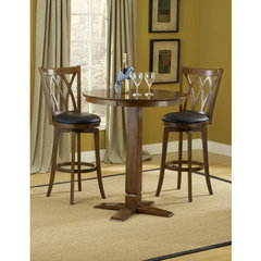 Buy Hillsdale Dynamic Designs 3 Piece 36x36 Pub Table Set w/ Mansfield Stools on sale online