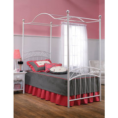 Buy Hillsdale Emily Full Duo Panel Canopy Bed on sale online