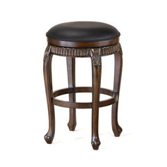 Buy Hillsdale Fleur De Lis Backless Swivel 30 Inch Barstool on sale online