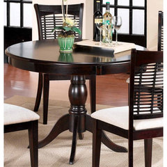 Buy Hillsdale Glenmary/Bayberry Pedestal 44x44 Round Dining Table in Dark Cherry on sale online
