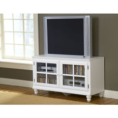 Buy Hillsdale Grand Bay 48 Inch Entertainment Console In White on sale online