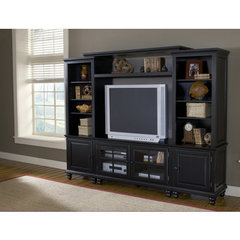 Buy Hillsdale Grand Bay 48 Inch Entertainment Unit In Black on sale online