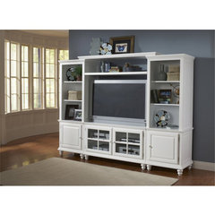 Buy Hillsdale Grand Bay 48 Inch Entertainment Unit In White on sale online