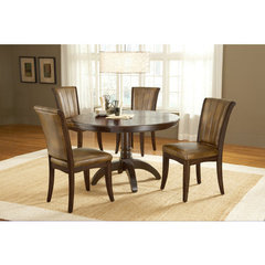 Buy Hillsdale Grand Bay 5 Piece Round Dining Room Set in Cherry on sale online