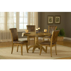 Buy Hillsdale Grand Bay 5 Piece Round Dining Room Set on sale online