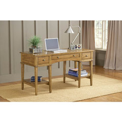Buy Hillsdale Gresham Desk in Medium Oak on sale online