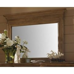 Buy Hillsdale Hampton Landscape Mirror in Weathered Pine on sale online