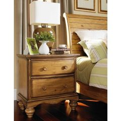 Buy Hillsdale Hampton Nightstand in Weathered Pine on sale online