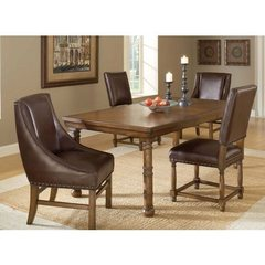 Buy Hillsdale Hartland 5 Piece Dining Set w/ Side Chairs and Arm Chairs on sale online