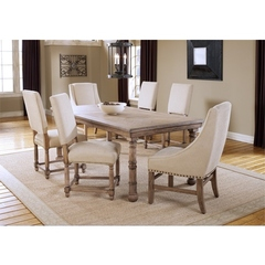 Buy Hillsdale Hartland 60x40 Dining Table w/ Leaf in Light Oak on sale online