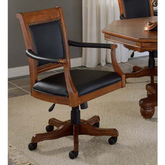 Buy Hillsdale Kingston Square Leather Back Game Chair on sale online