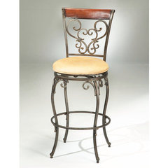 Buy Hillsdale Knightsbridge Swivel 26 Inch Counter Height Stool on sale online