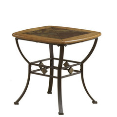 Buy Hillsdale Lakeview 24x24 End Table on sale online