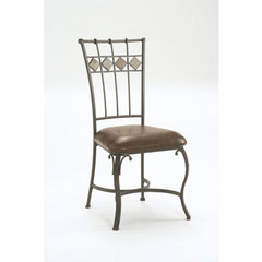 Buy Hillsdale Lakeview Side Chair w/ Slate Panel in Back (Set of 2) on sale online