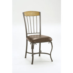 Buy Hillsdale Lakeview Side Chair w/ Wood Panel in Top (Set of 2) on sale online