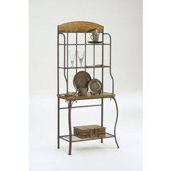 Buy Hillsdale Lakeview Wood Bakers Rack on sale online