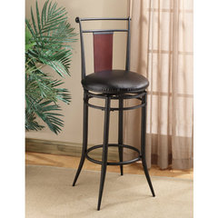 Buy Hillsdale Midtown Swivel Wood Back 24.5 Inch Counter Height Stool on sale online