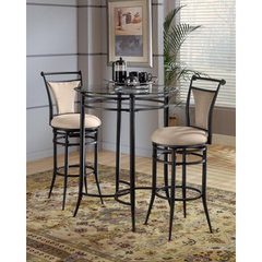 Buy Hillsdale Mix-N-Match 3 Piece 34x34 Pub Table Set w/ Cierra Stools in Fawn on sale online