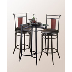 Buy Hillsdale Mix-N-Match 3 Piece Pub Table Set w/ Midtown Stools on sale online