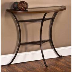Buy Montclair 36x14 Half Moon Console Table in Copper on sale online