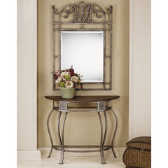 Buy Hillsdale Montello 36x14 Console Table w/ Wood Top on sale online