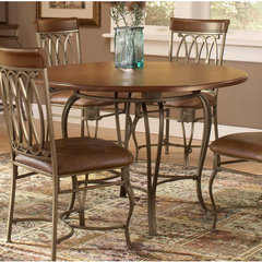 Buy Hillsdale Montello 45x45 Round Dining Table in Old Steel on sale online