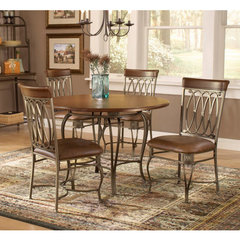 Buy Hillsdale Montello 5 Piece 45x45 Dining Room Set on sale online