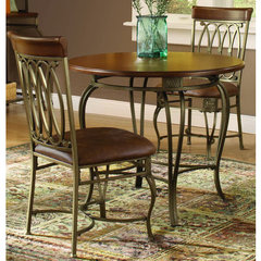Buy Hillsdale Montello 36x36 Round Dining Table in Old Steel on sale online
