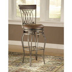 Buy Hillsdale Montello 28 Inch Swivel Counter Height Stool on sale online