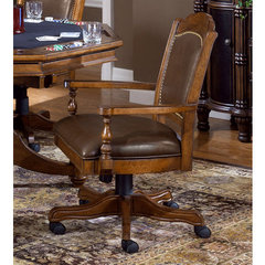 Buy Hillsdale Nassau Leather Game Chair on sale online