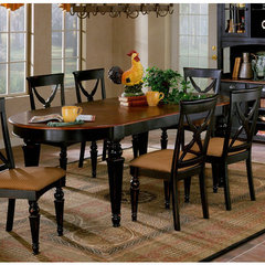 Buy Hillsdale Northern Heights 64x42 Dining Table w/ Two 14 Inch Leaves on sale online